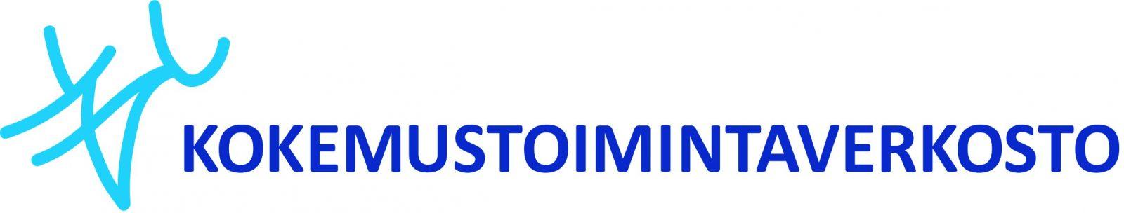 Kokemustoimintaverkoston sininen logo